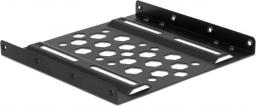 Delock Aluminiowa ramka montażowa 2.5″ do 3.5″ Czarna (21287)