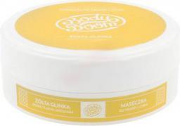 BODY BOOM Yellow Clay maseczka do twarzy i ciała żółta glinka 200g