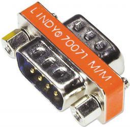 Adapter AV Lindy D-Sub męski - D-Sub męski (70071)