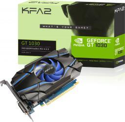 Karta graficzna KFA2 GT 1030 2GB GDDR5 (64 bit), DVI-D, HDMI, BOX (30NPH4HVQ4SK)