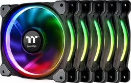 Thermaltake Riing Plus 14 RGB 5-pack + Hub (CL-F057-PL14SW-A)