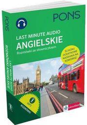 Last Minute audio. Angielski rozmówki PONS - 155201