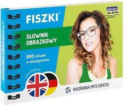 Fiszki. Słownik Obrazkowy - angielski + niemiecki