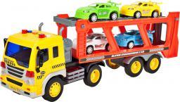 MalPlay Ciężarówka- laweta z autami (103560)