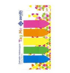ZENITH  Zakładki indeksujące samoprzylepne Tag Me 5 kolorów (WIKR-980852)