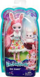 Mattel Enchantimals  Lalka + Zwierzątko. Bree Bunny (DVH87/DVH88)