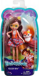 Mattel Enchantimals  Lalka + Zwierzątko. Felicity Fox (DVH87/DVH89)