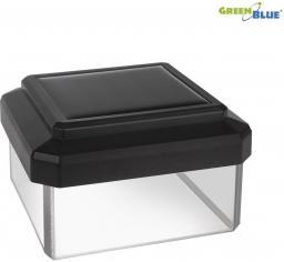 GreenBlue Lampa solarna na słupek LED 60*60 daszek kopertowy (GB126)