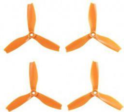 HQ Prop Śmigło Prop Triple 5X4X3 pomarańczowy (2CW+2CCW)  włókno szklane   (TP5X4X3O-GFN)