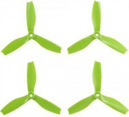 HQ Prop Śmigło  Prop Triple 5X4X3 zielone  (2CW+2CCW)  włókno szklane (TP5X4X3G-GFN)