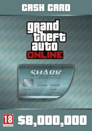 Grand Theft Auto Online: Megalodon Shark Cash Card, ESD 799189