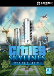 Cities Skylines Deluxe Edition PC, wersja cyfrowa