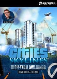 Cities Skylines - Content Creator Pack: High-Tech Buildings, ESD (819780)