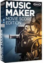 Magix Music Maker Movie Score Edition wersja 6, ESD,  Win,   angielski (793611)