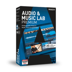 Magix Audio & Music Lab Premium, ESD, Win,  angielski (807578)