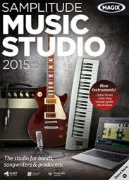 Magix Music Studio 2015, ESD, Win, angielski (790305)