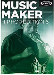 Magix Music Maker Hip Hop Edition, wersja 6,  Win, angielski (793610)