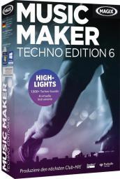 Program Magix Music Maker Techno Edition wersja 6, ESD,  Win, angielski (793613)