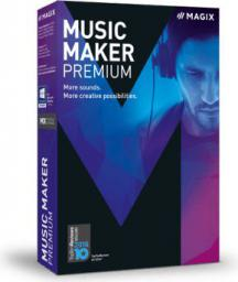 Magix Music Maker Premium,  ESD, Win,  angielski (807607)