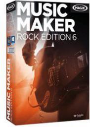 Magix Music Maker Rock Edition wersja 6, ESD,  Win,  angielski (793612)