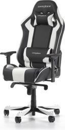 Fotel DXRacer King Czarno-biały (OH/KS06/NW)