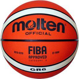 Molten Piłka do Koszykówki BGR-6-OI pomarańczowa r. 6  (8240)