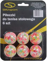 SMJ sport Piłeczki do ping ponga  outdoor kpl. 6szt.