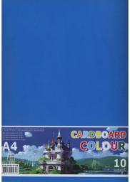 Fresh Karton kolorowy A4 230g. 10 arkuszy