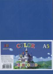 Fresh Karton kolorowy A5 230g. 10 arkuszy