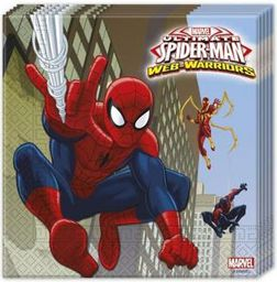 GoDan Serwetki Spider-Man 33 x 33 20 sztuk. - WIKR-0988650