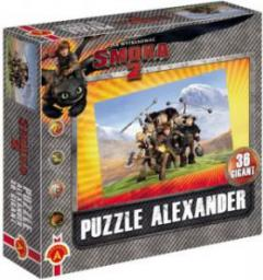 Alexander Puzzle 36 Gigant - Jak wytresować smoka 2: Ekipa w górach