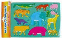 Starpak Szablony rysunkowe Zwierzęta