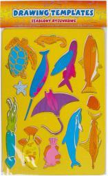 Starpak Szablony rysunkowe Ryby