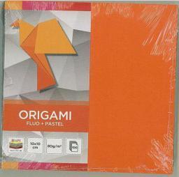 Interdruk Papier origami 10x10cm Fluo+Pastel