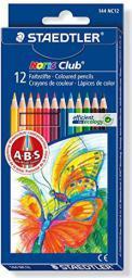 Staedtler Kredki ołówkowe 12 kolorów Noris Club