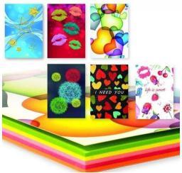 Polsirhurt Notes A6 kolorowy fluo YP70100-N