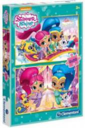 Clementoni Puzzle 2x20 elementów SL Shimmer and Shine (239113)