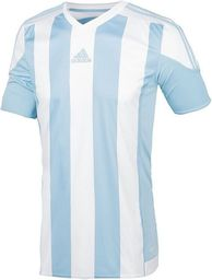 Adidas Koszulka piłkarska męska Striped 15 czarno czerwona r