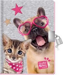 PASO Pachnący pamiętnik z kłódką Studio Pets (WIKR-1048456)