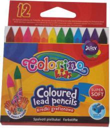 Patio Kredki Colorino grafionowe 12 kolorów