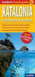 Comfort! Map&Guide XL Katalonia, Costa Brava 2w1