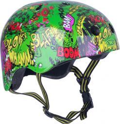 WORKER Kask dziecięcy Freestyle Komik Zielony  r. XS  (8781-XS-1)