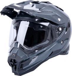 W-TEC Kask motocyklowy AP-885 carbon look r. XL 61-62 (9932-XL)