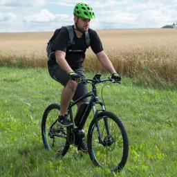 Devron Elektryczny rower górski 27225 - model 2016 Kolor Czarny rajdowy, Rozmiar ramy 18