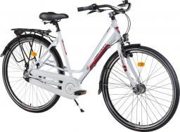 Devron Rower miejski Urbio LC1.8 - model 2016 Kolor Karmazynowa biel, Rozmiar ramy 19