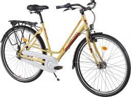 Devron Rower miejski Urbio LC1.8 - model 2016 Kolor Antyczny mosiądz, Rozmiar ramy 20,5
