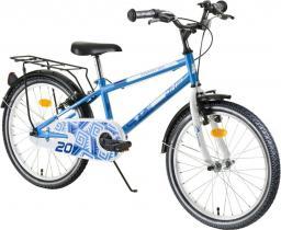 """DHS Rower dziecięcy Travel 2003 20"""" niebieski (216200330)"""
