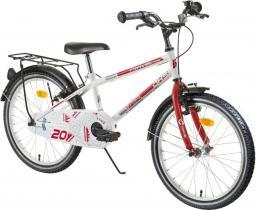 """DHS Rower dziecięcy Travel 2003 20"""" biały (216200390)"""