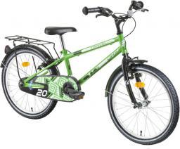 """DHS Rower dziecięcy Travel 2001 20"""" zielony (217200180)"""