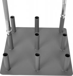 inSPORTline Stojak na gryfy BR3001 30mm - 7149